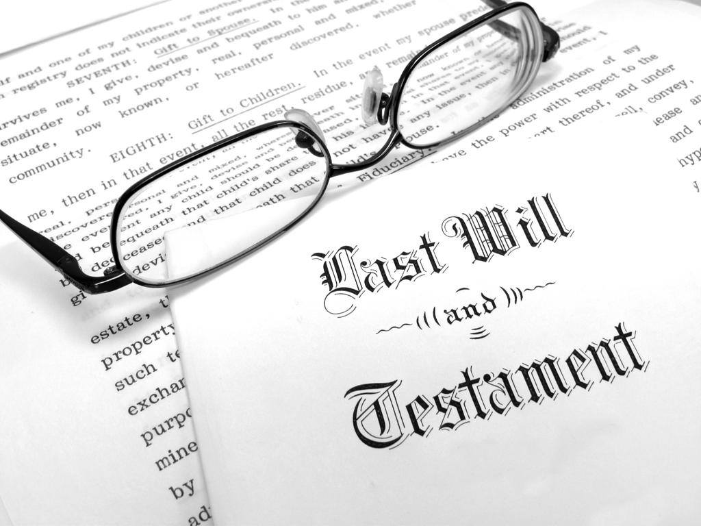 what does bequeath mean in a will